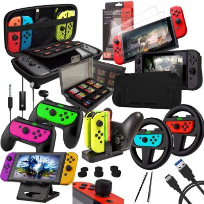 Orzly Geek Accessoires Pack Pour Nintendo Switch